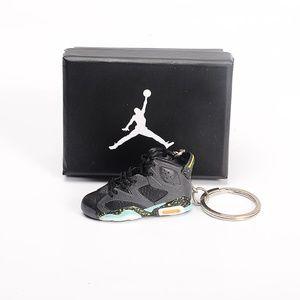 "Jordan 6 ""Brazil World Cup"" 3D Keychain Single"